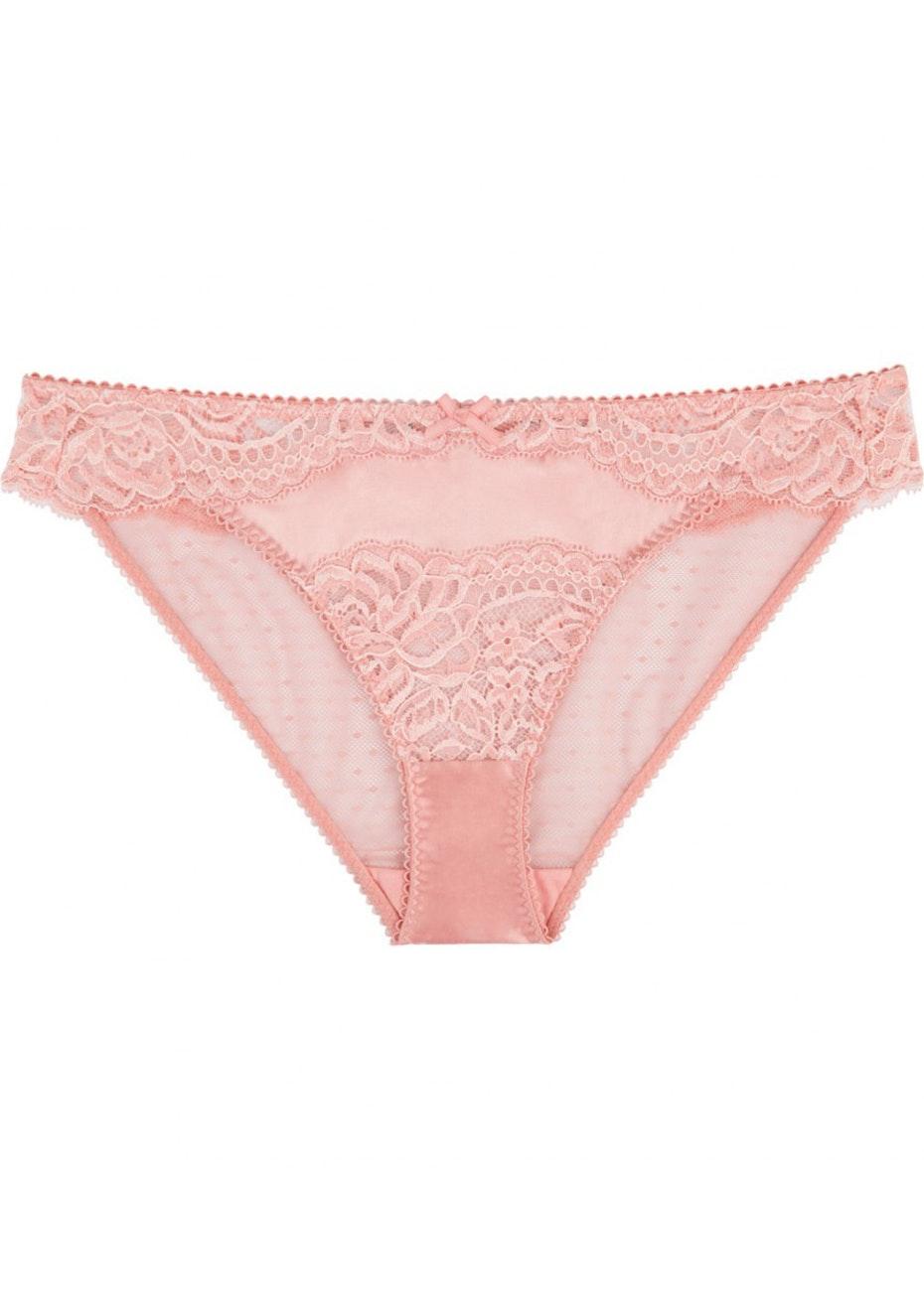 Stella McCartney - Isabel Floating Bikini Brief - Pink Clay