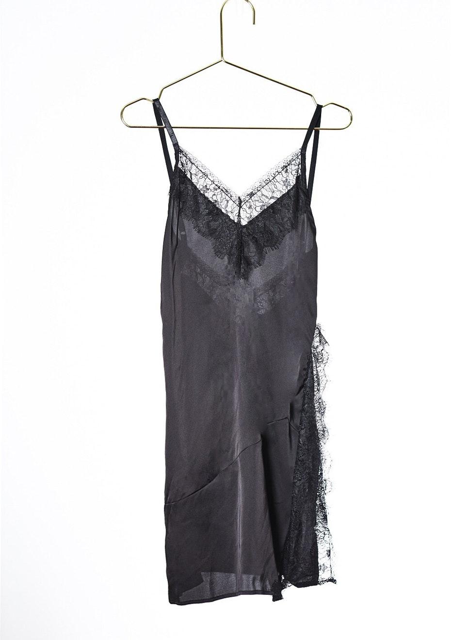 SO LONG LACE DRESS - BLACK