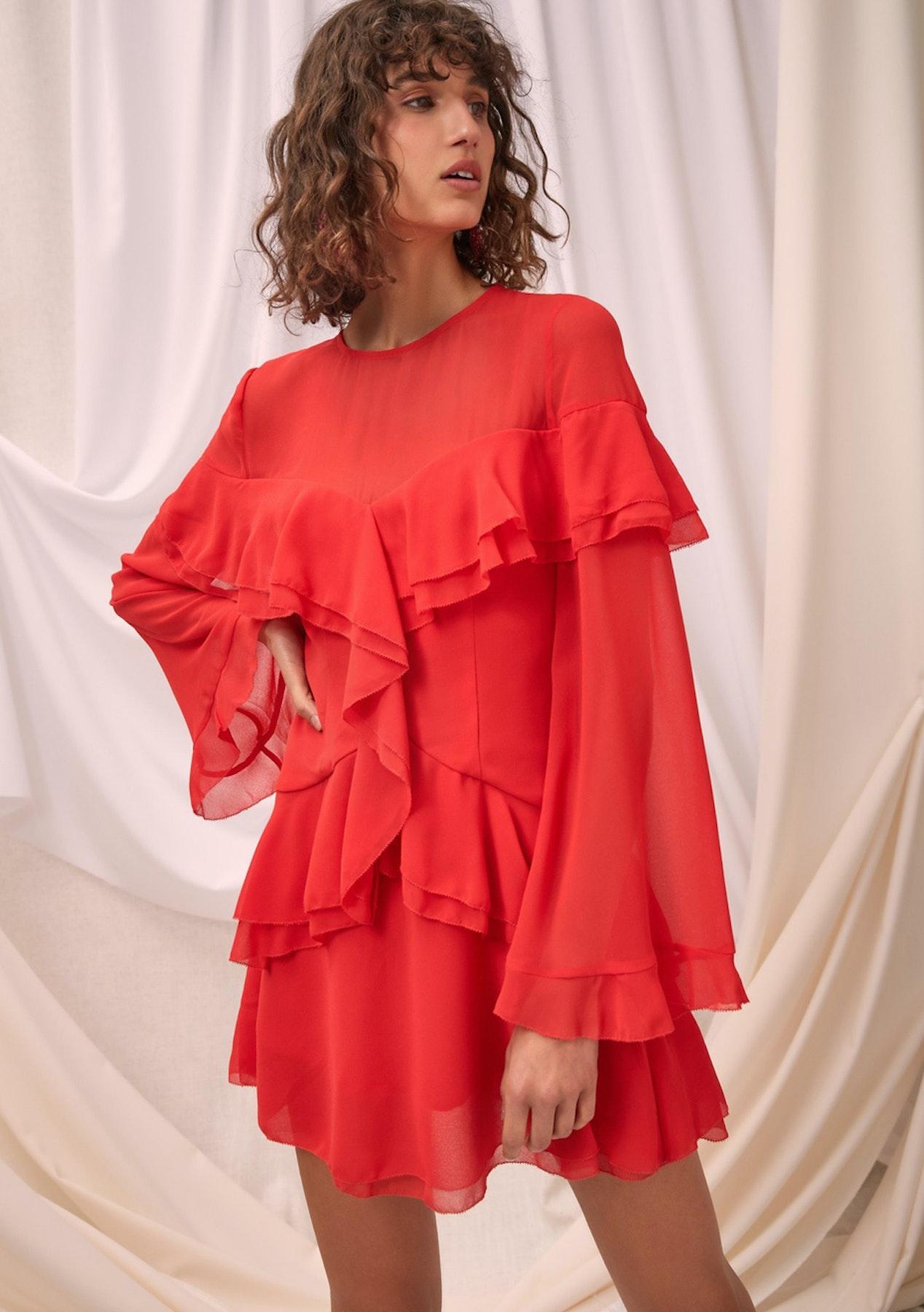 70f20dec41870 CMEO - Elude Ls Mini Dress - Chili - Designer Garage Sale - Onceit