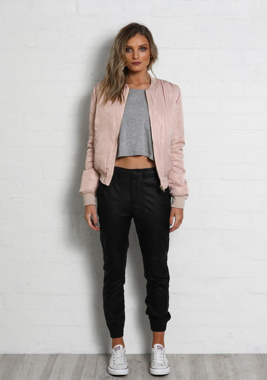 Madison - BOMBER JACKET - BLUSH