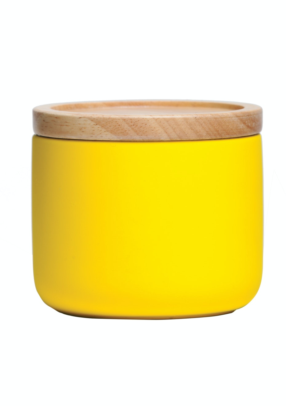 General Eclectic - Sml Canister Matt Yellow