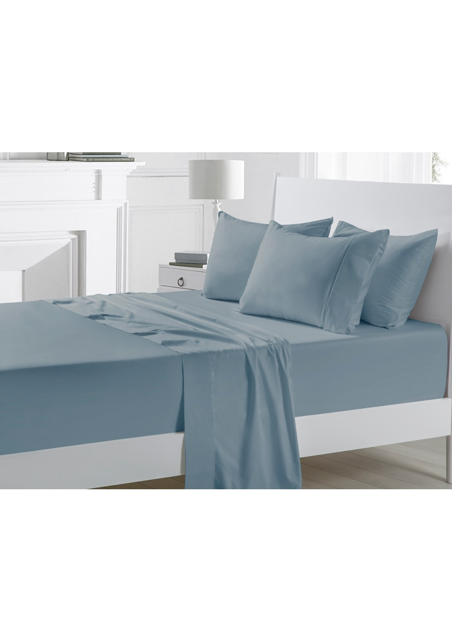 Arctic 300TC Cotton Sateen Sheet Set - Queen Bed