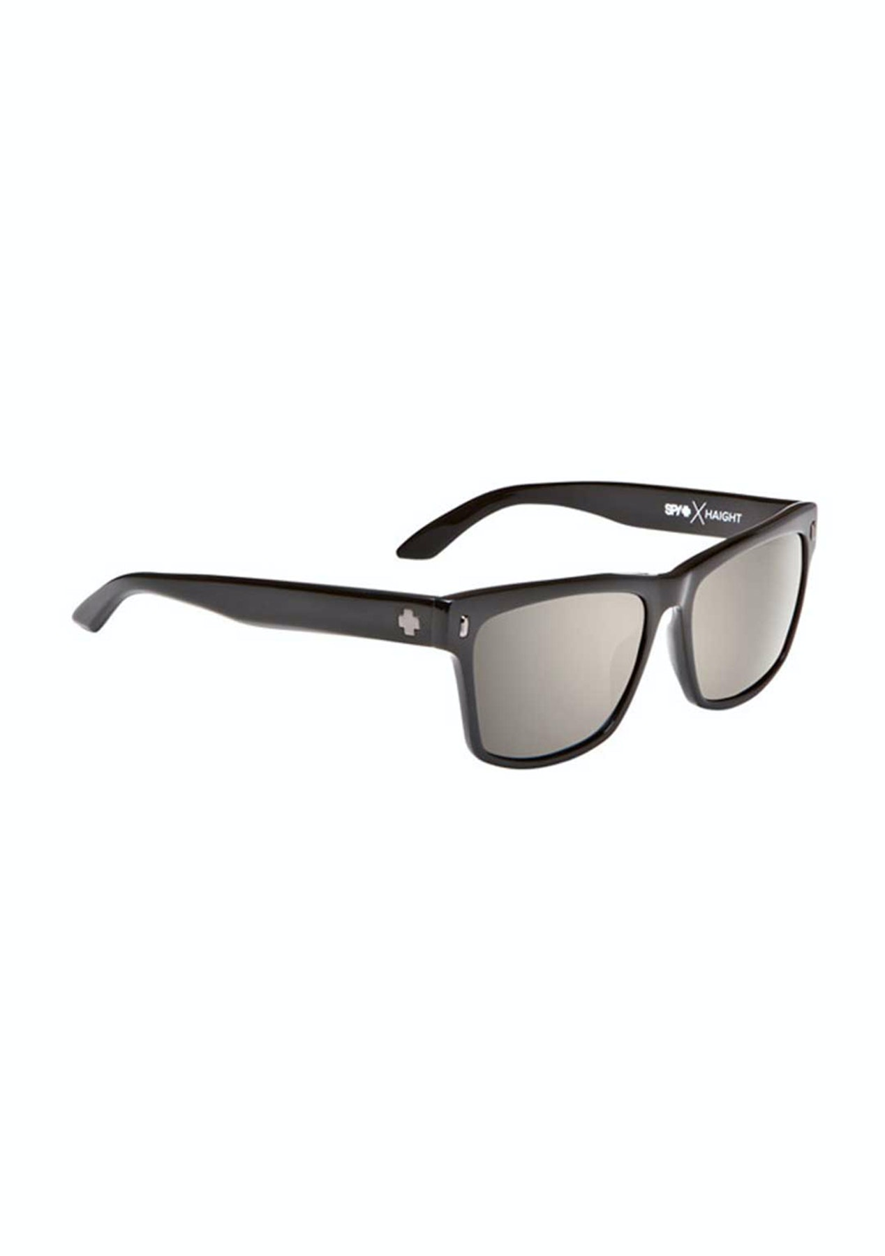 58251efa36 SPY Haight Sunglasses - Black - Happy Bronze Polar w Black Mirror -  Accessories   Eyewear Warehouse - Onceit