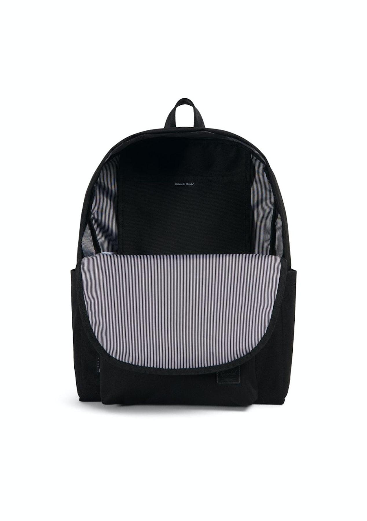 Herschel - Berg Backpack - Black - 50% Off Herschel - Onceit a59dac6032dd2
