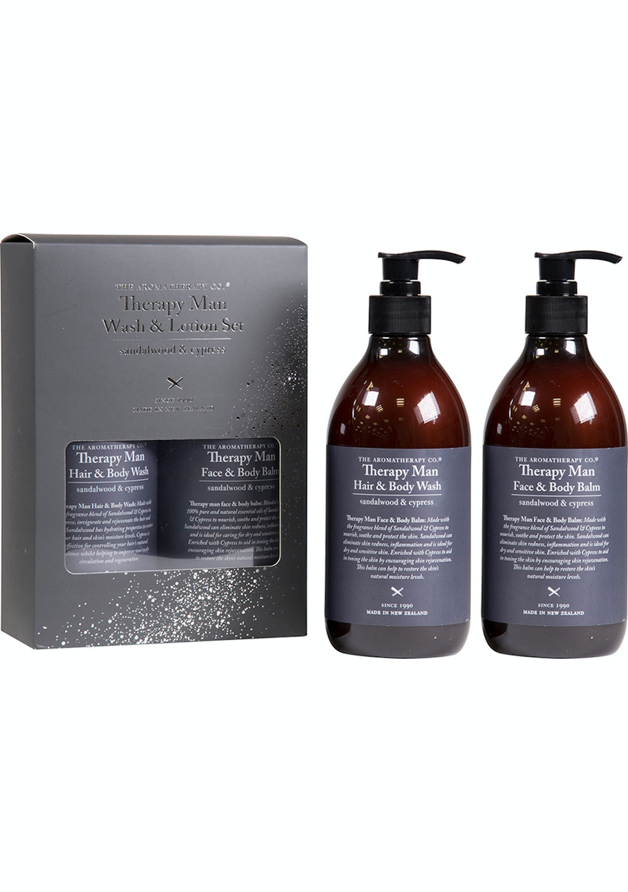 The Aromatherapy Co  - Therapy Man Wash Lotion Pump Pack 500ml