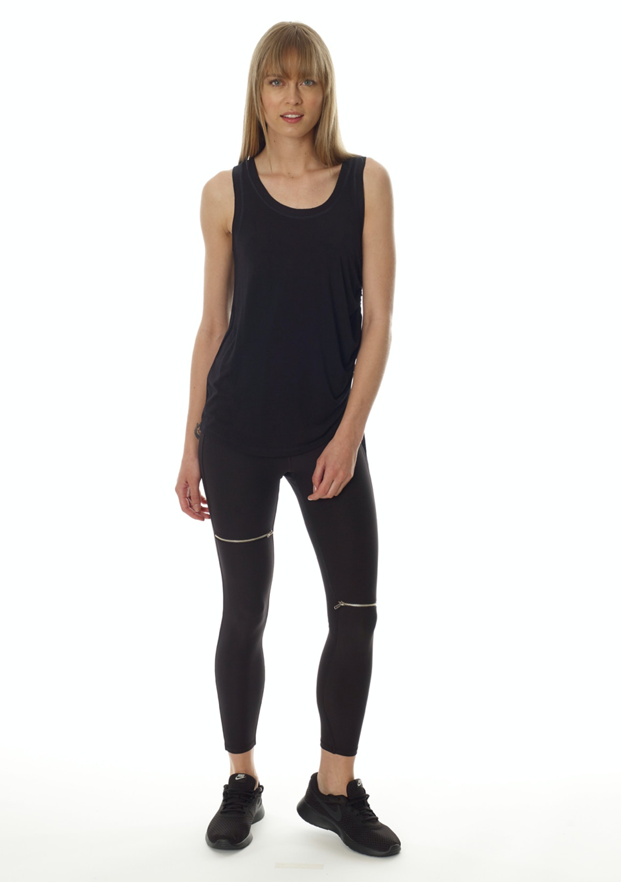 eec3278abe41a X by Gottex - Carmen Open Legging - Black - Back By Popular Demand:  Activewear under $40 - Onceit