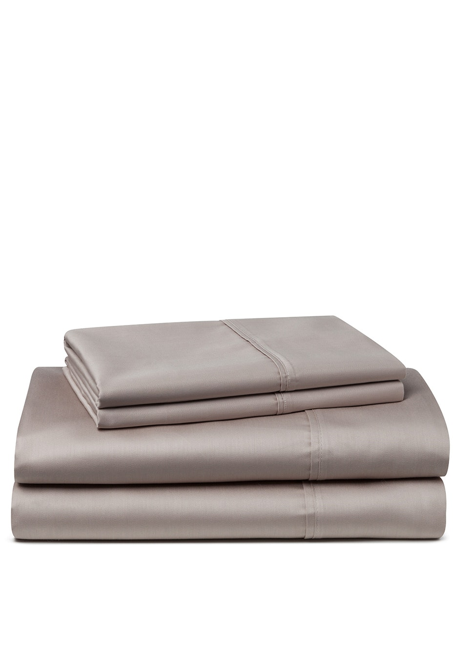 Palazzo Royale 1000 Thread Count Premium Blend Sheet Set Queen Bed Nude Taupe