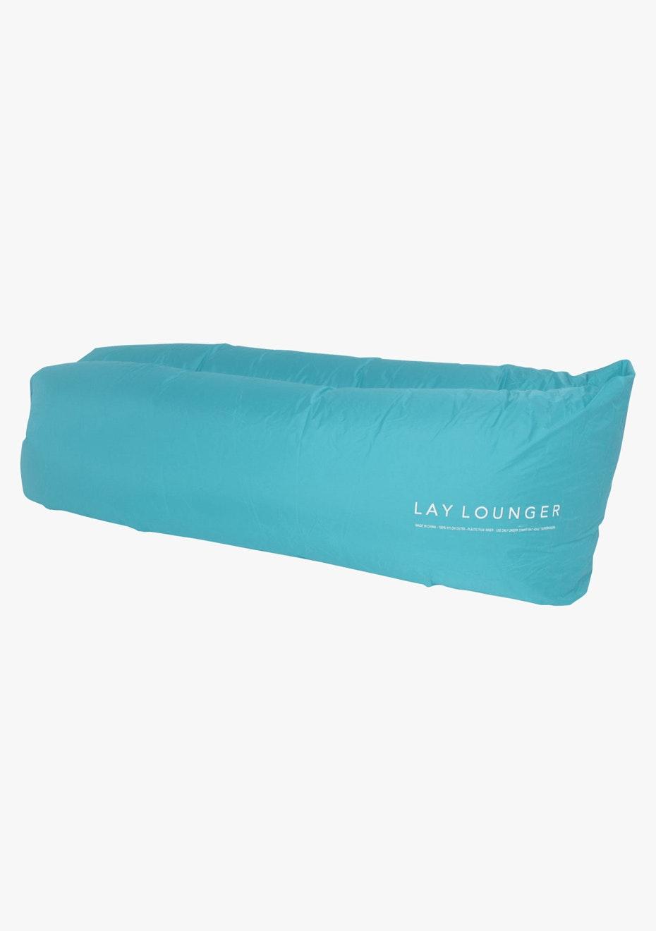 Lay Lounger Lounge Bag - Blue