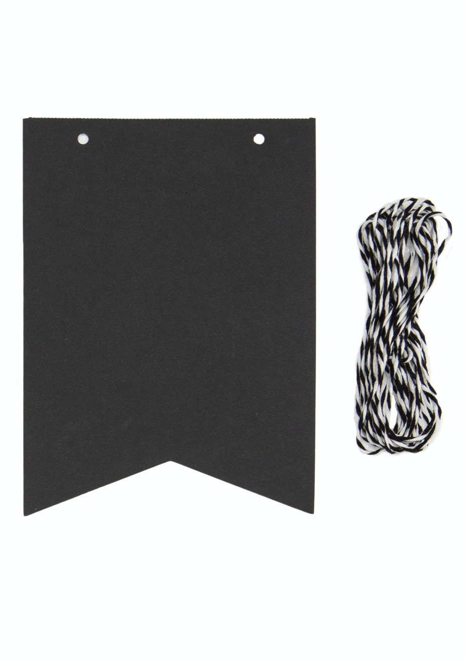 General Eclectic - Chalkboard Paper Flags