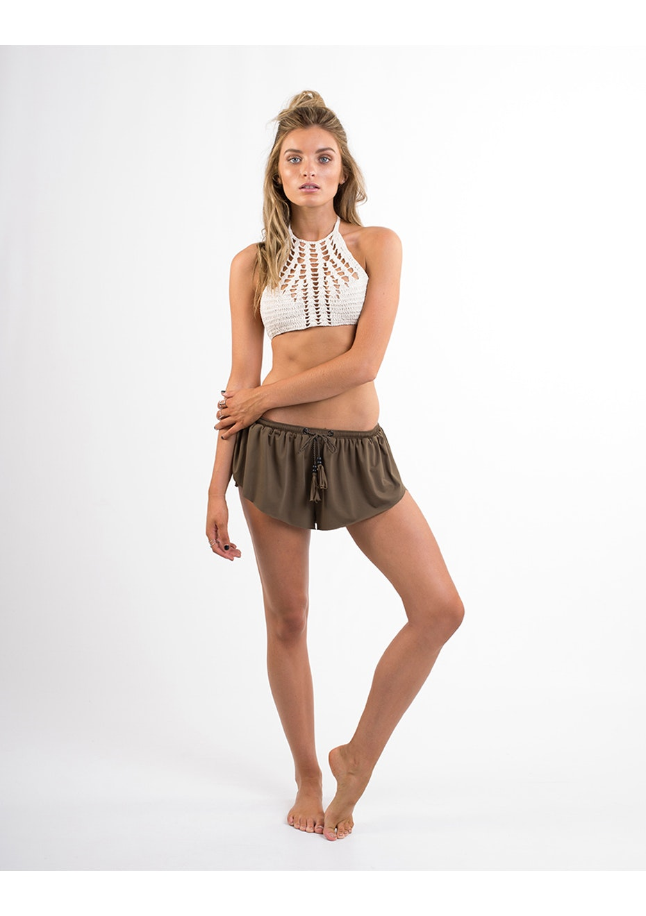 All About Eve - Eve Mermaid Short - Khaki