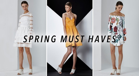 Spring Must Haves From $34.95