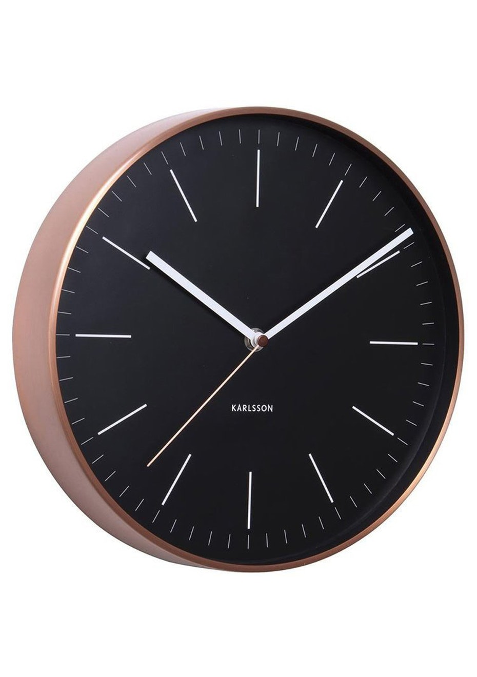 Karlsson - Wall Clock 'Minimal' - Black