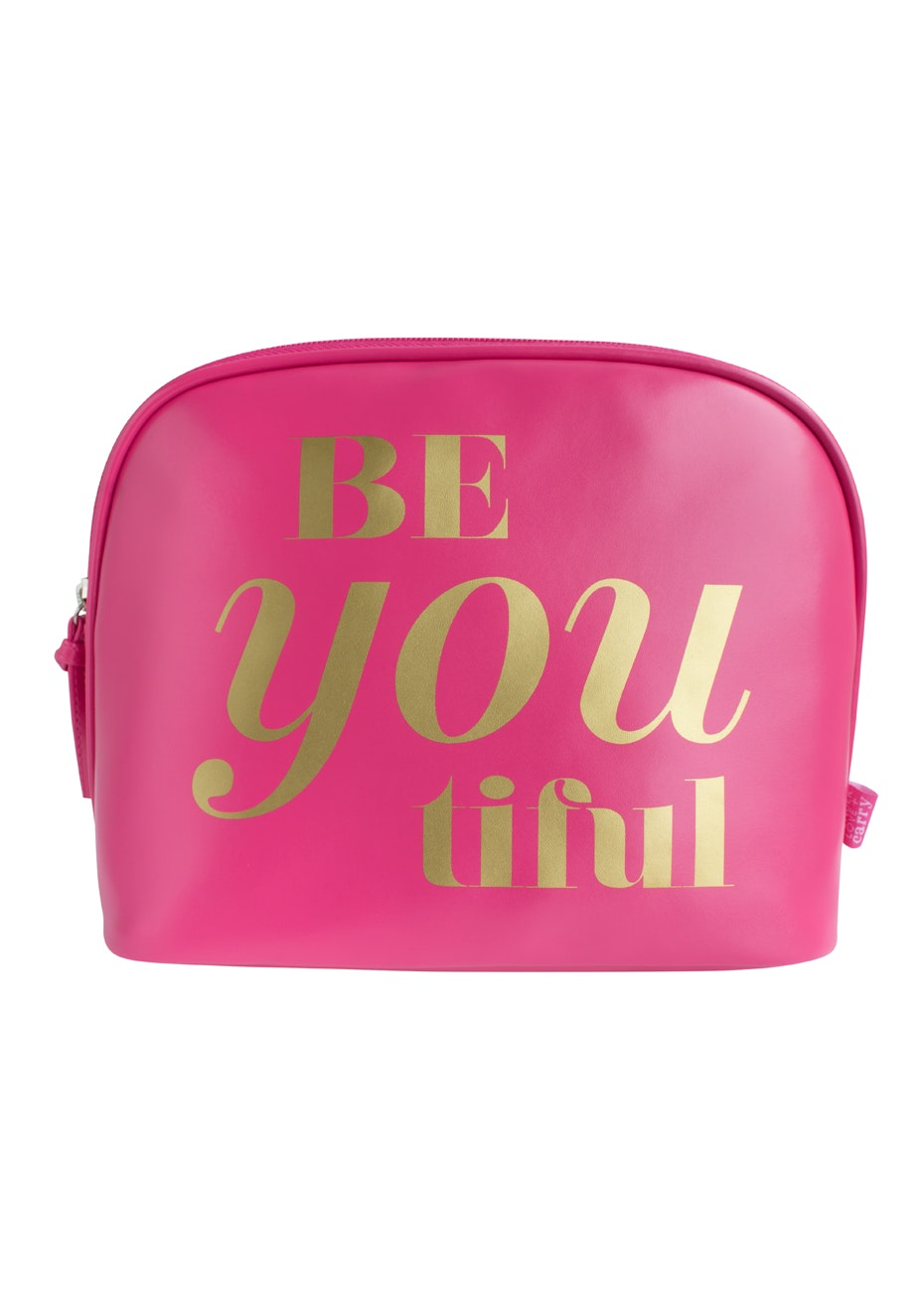 TL+C - BeYoutiful you Cosmetic Clutch - Pink/Gold