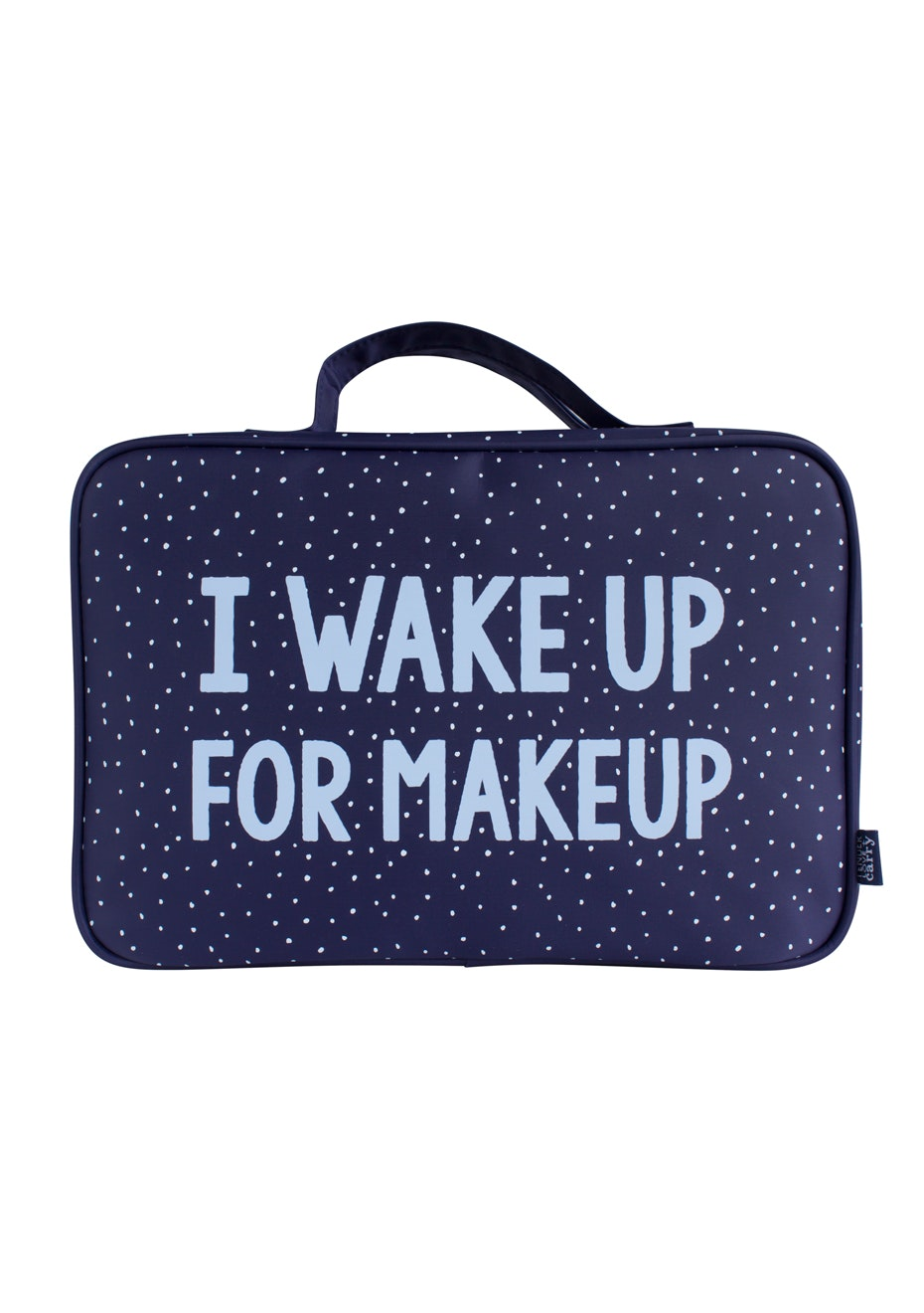 TL+C - I Wake Up Hanging Washbag  - Navy