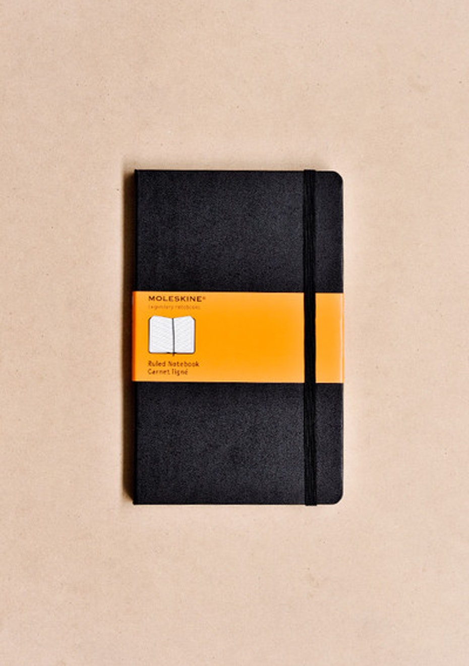 Classic Hard Cover Notebook - Ruled