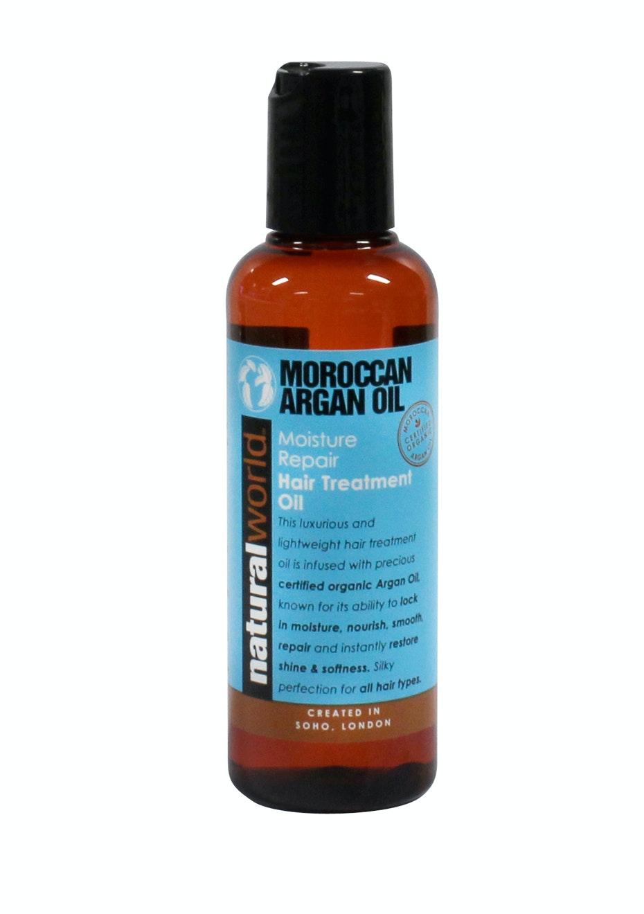 Natural World Moroccan Argan Oil Treatment Oil 100ml