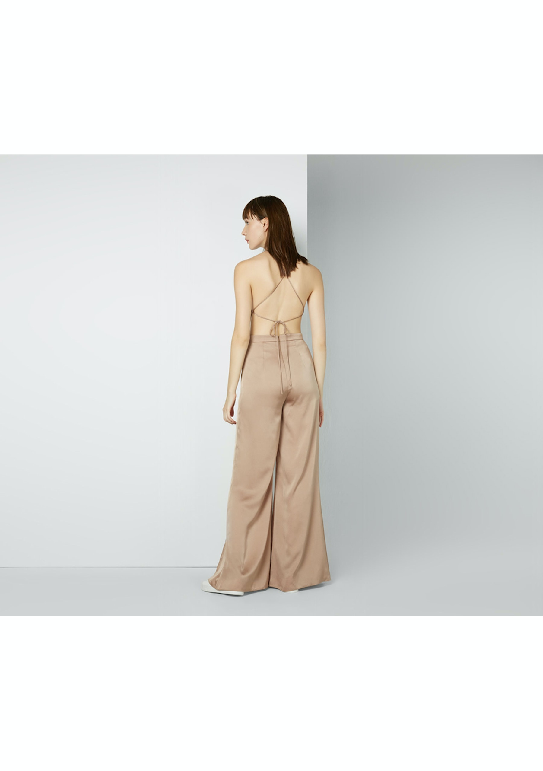 Fame Partners Rikki Jumpsuit Dark Tan Fame Partners Up To