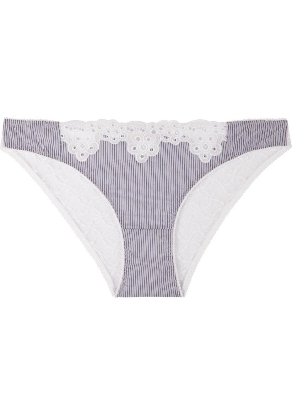 Stella McCartney - Marie Skipping Bikini Brief - Stripe &  White