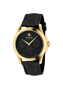 3d78365f12c Gucci - YA1264032  G-Timeless 38mm Watch Black