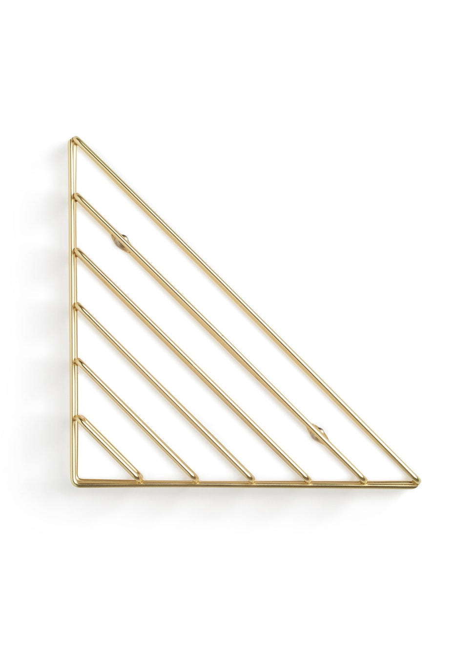 Umbra - Strum - Metallic Wall Shelf - Brass